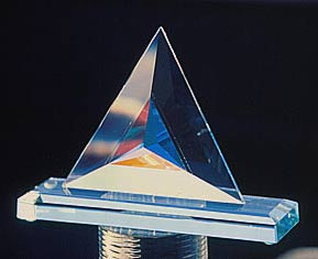 Beveled Triangle Sculpture